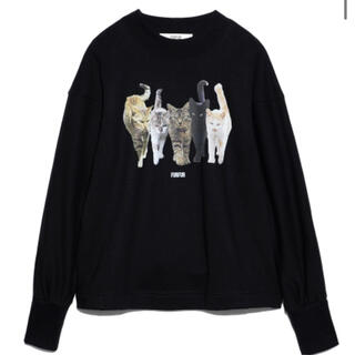 fur fur - FURFUR オーバーサイズプリントスウェット