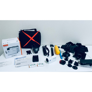 SONY - SONYアクションカム HDR-AS300 バッテリー×2 アクセサリーセット