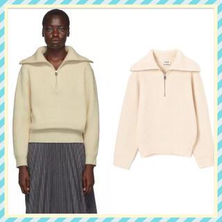 アクネ(ACNE)のAcne Studios⭐︎Off-White  Zip-Up Sweater(ニット/セーター)