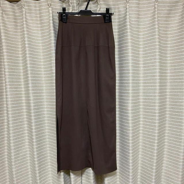 FRAY I.D(フレイアイディー)のFRAY I.D サイドスリットスウェードスカート レディースのスカート(ロングスカート)の商品写真