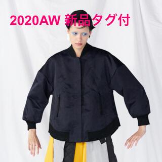 ENFOLD - ☆新品タグ付☆ enfold ヘビーサテン フレアAラインブルゾン 38