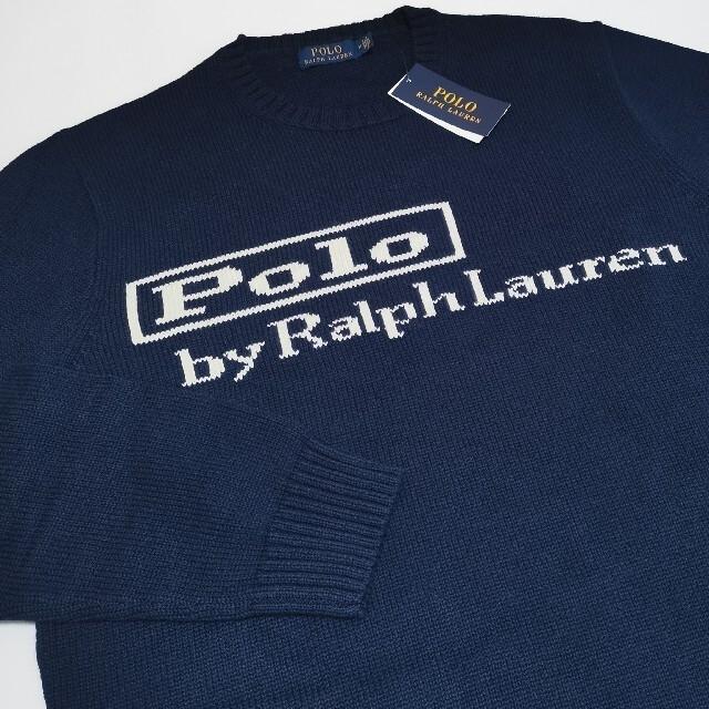 POLO RALPH LAUREN(ポロラルフローレン)のRalph Lauren オリジナルロゴ セーター 新作 旧ロゴ 国内正規品 メンズのトップス(ニット/セーター)の商品写真