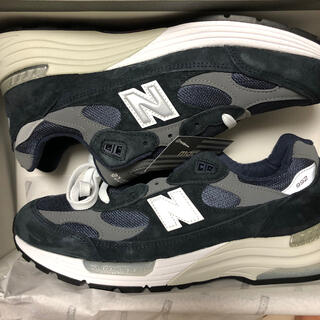 New Balance - ニューバランス M992 ネイビー