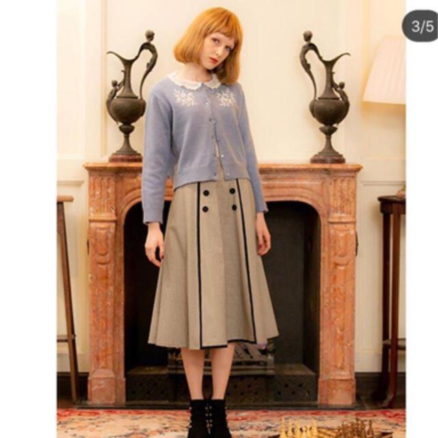 F i.n.t(フィント)のチェックスカート  レディースのスカート(ひざ丈スカート)の商品写真