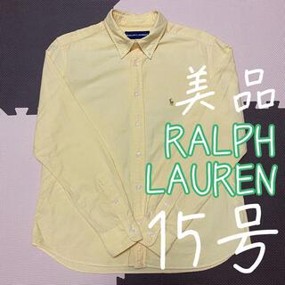 Ralph Lauren - ラルフローレン RalphLauren 長袖 カラーポニーロゴ シャツ 15号