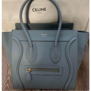 celine - 美品 CELINE ラゲージ マイクロ