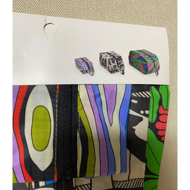 Ron Herman(ロンハーマン)のBAGGU ポーチ 日本未発売 3種セット  レディースのファッション小物(ポーチ)の商品写真