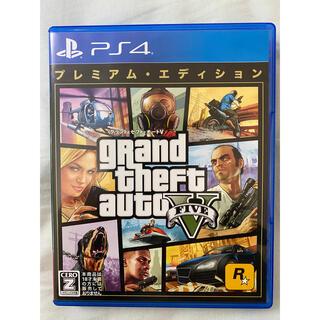 PS4 ゲームソフト GTA5 グラセフ