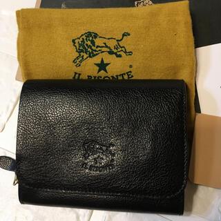 IL BISONTE - 37400円 未使用!イルビゾンテ 財布 ブラック