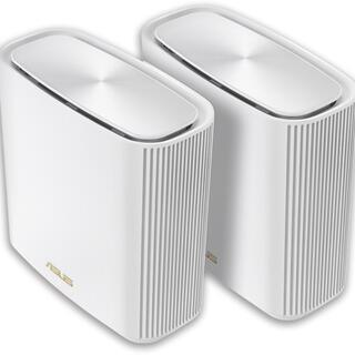 ASUS - 新品同様 ASUS ZenWiFi AX (XT8) 2台セット [ホワイト]