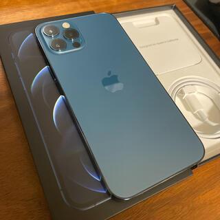 iPhone - iPhone 12 Pro 128GB パシフィックブルー SIMフリー 本体