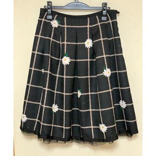 M'S GRACY - M'sグレイシースカート 黒花柄