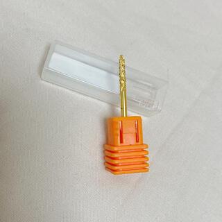 ネイルマシーン  ビット  ゴールド  新品未使用(ネイル用品)