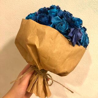 【送料無料】折り紙ブーケ ブルー(その他)