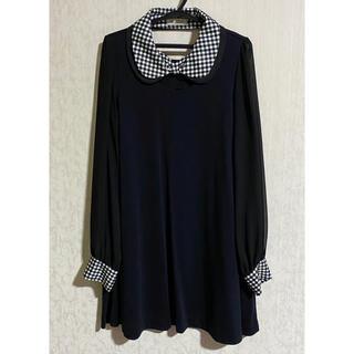 ISBIT - ISBIT IRIS CLUB アイズビット ワンピース 黒 レディース 洋服