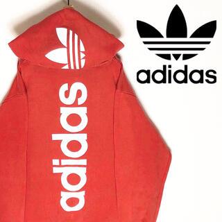 adidas - adidas アディダス パーカー デカロゴ 大きめ 海外限定 スポーツMIX
