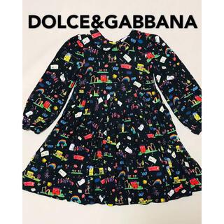 DOLCE&GABBANA - DOLCE&GABBANA ドルガバ キッズ ワンピース 総柄