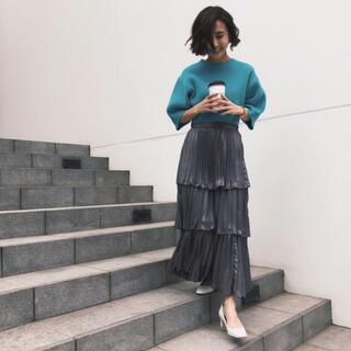 Ameri VINTAGE - 【 AMERI 】定価1万7000円 3段プリーツ スカート