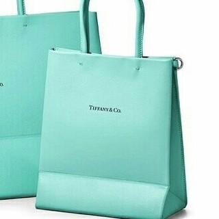 Tiffany & Co. - ティファニー ショッピング トート バッグ
