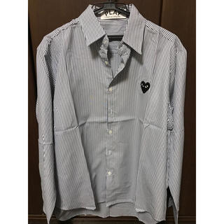 COMME des GARCONS - 特価!!コムデギャルソン シャツ ストライプシャツ サイズXL