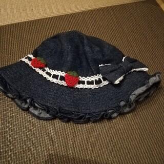 Shirley Temple - シャーリーテンプル いちごデニム帽子