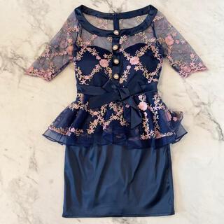 Andy - 【大特価】新品 高級ミニドレス キャバドレス 袖あり