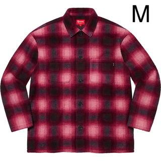Supreme - Supreme Shadow Plaid Fleece Shirt Mサイズ
