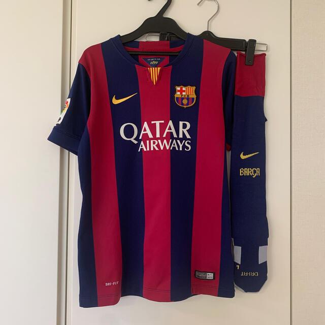 NIKE(ナイキ)のFCバルセロナ Jr  シャツ&ソックス スポーツ/アウトドアのサッカー/フットサル(ウェア)の商品写真