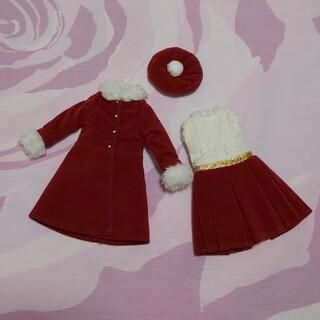美品 リカちゃん クリスマス ドレス セット 2015年 コート 人形