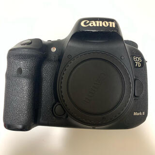 Canon - 7DMarkⅡ ボディのみ 予備バッテリー付き(社外品も含む)