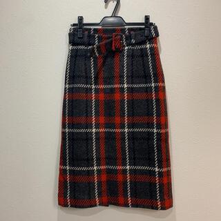 STRAWBERRY-FIELDS - ストロベリーフィールズ♡チェックタイトスカート