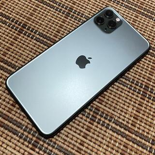 iPhone - simフリーiPhone 11 Pro Max 512GB iFaceケース付き