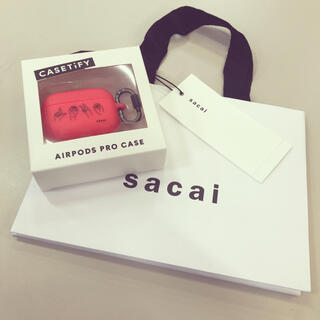 sacai - sacai × CASETiFY LOVE  air pods proケース