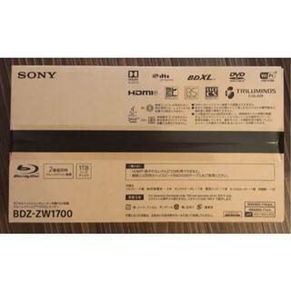 ソニー(SONY)のBDZ-ZW1700(ブルーレイレコーダー)