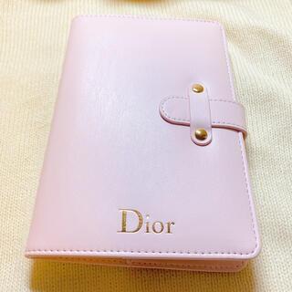 Dior - 【新品未使用】DIOR ノベルティ ノート 手帳 ピンク