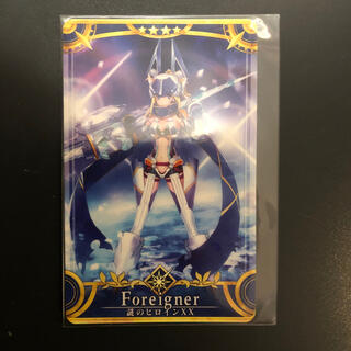 セガ(SEGA)のFGOアーケード 謎のヒロインXX 第2再臨(カード)