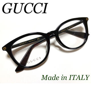 Gucci - ✴︎新品✴︎ 最安値 ★大人気☆ GUCCI 伊達 メガネ ボストン ブラック