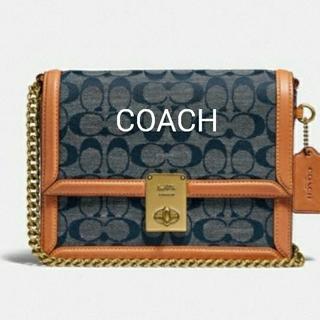 COACH - 新品 コーチ ハットン ショルダーバッグ ハンドバッグ シグネチャー