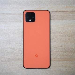 アンドロイド(ANDROID)のPixel4 限定色 Oh So Orange 64GB SIMフリー(スマートフォン本体)