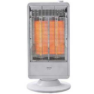 1)ホワイト遠赤外線カーボンヒーター(900W/450W 2段階切替) 自動首振(その他)