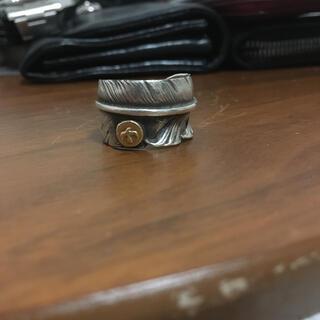 ゴローズ(goro's)のゴローズ メタル付きフェザーリング(リング(指輪))