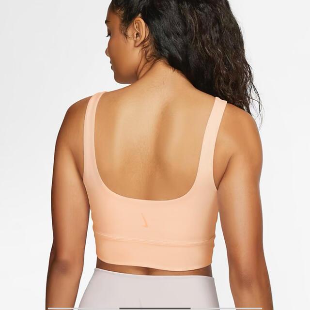 NIKE(ナイキ)の新品 NIKE ナイキ ヨガ ラックス ヨガウェア ブラトップ  スポーツ/アウトドアのトレーニング/エクササイズ(ヨガ)の商品写真