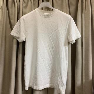 OFF-WHITE - オフホワイト アローロゴ Tシャツ off white
