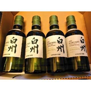 白州 180ml ミニボトル 4本セット(ウイスキー)