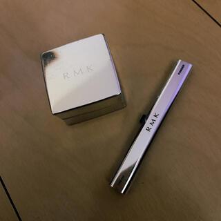 RMK - RMK インジーニアスクリーム&パウダーアイズ 01 silvergold