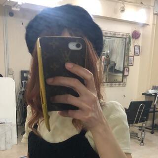 ジーナシス(JEANASIS)のジーナシス♡ベレー帽 ブラック(ハンチング/ベレー帽)