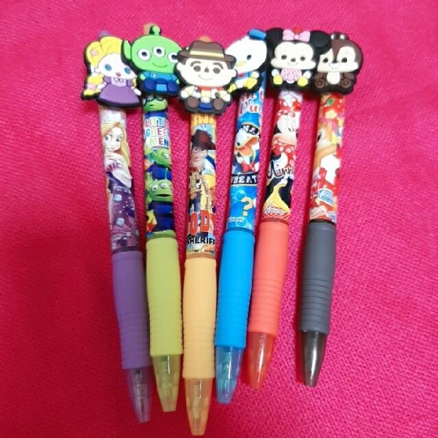 Disney(ディズニー)のディズニー キャラクター ボールペンセット エンタメ/ホビーのおもちゃ/ぬいぐるみ(キャラクターグッズ)の商品写真