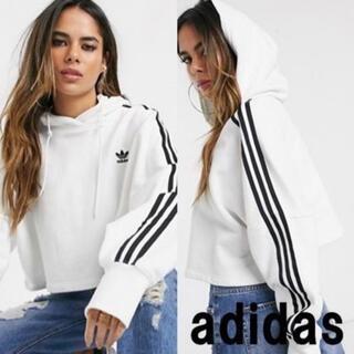 adidas - 【新品】adidas originals クロップドパーカー クロップド丈