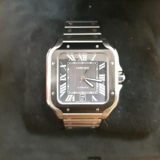 Cartier - サントスドゥカルティエ LM グレー