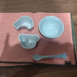 ルクルーゼ(LE CREUSET)のル・クルーゼベビー食器セット(離乳食器セット)